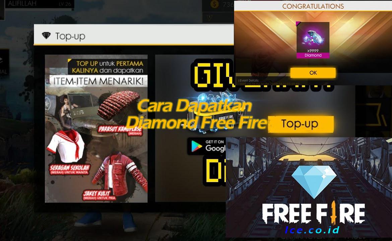 Cara Dapatkan Diamond Free Fire