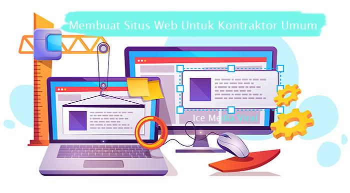 Membuat Situs Web Untuk Kontraktor Umum