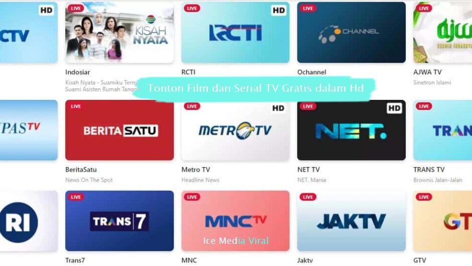 Tonton Film dan Serial TV Gratis dalam Hd
