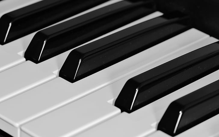 Kunci Piano Hitam Dan Putih